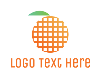 Grid - Grid Fruit logo design