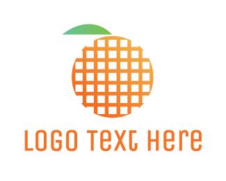 Grid - Grid Fruit logo design