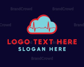 Cardiology - Cardio Cloud logo design