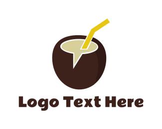 Filipino - Coco Chat logo design