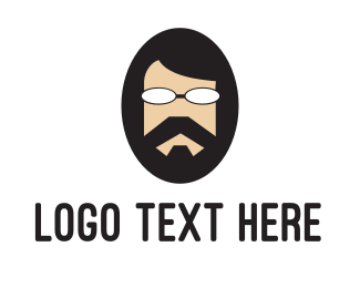 Scientist - Cool Hippie  logo design