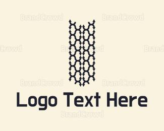 Arrows - Tire Tracks Logo logo design