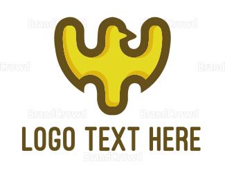 Yellow - Yellow Eagle logo design