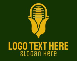 Tune - Yellow Corn Radio  logo design