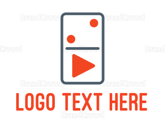 Player - Domino Player logo design