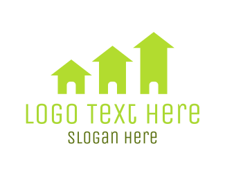 """Green Houses"" by LogoBrand"