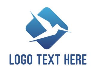 App - Blue Bird App logo design