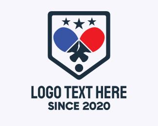 Paddle - Table Tennis Tournament  logo design