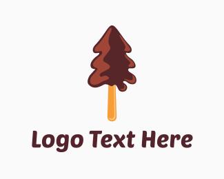 Candy - Chocolate Tree logo design