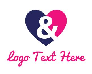 Wedding Planner -  Love & Heart logo design