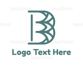 Cathedral - Blue Pattern B logo design