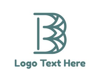 Events - Blue Pattern B logo design