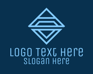 Triangle Diamond Business Logo