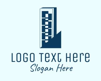Condo - Blue Tower Condo logo design