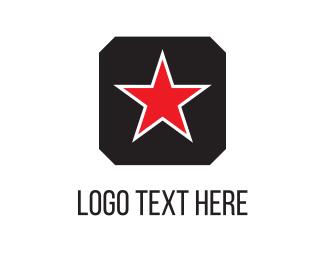 Constellation - Red Star logo design