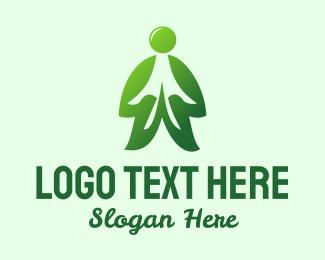 Body - Green Man logo design