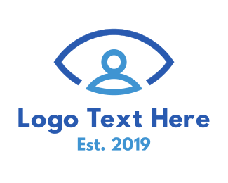 Person - Eye Person logo design