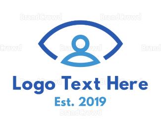 Eye Care - Eye Person logo design