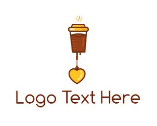 Hot Drink - Coffee Love logo design