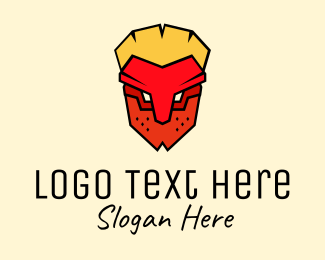 Tribal Mask Avatar Logo