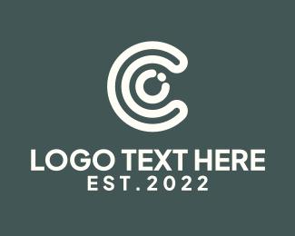 Red And White - Red White Letter C logo design