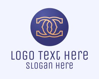 Showroom - D & C Monogram logo design