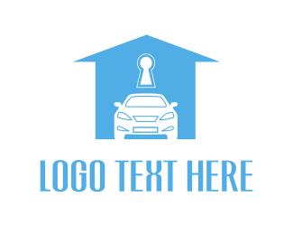 Insurance - Car & House logo design