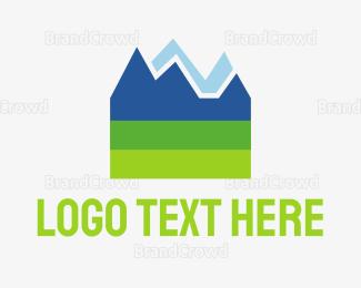 Mountain - Mountain Rock logo design