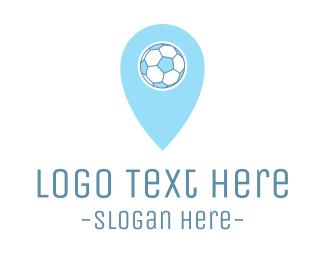 Route - Soccer Ball Pin logo design