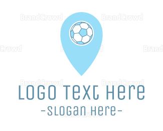 Soccer - Soccer Ball Pin logo design