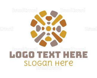 Bricklayer - Stone Floors logo design