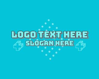 Word - Cute Video Game Wordmark logo design