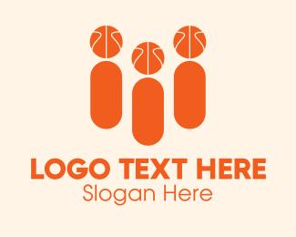 Sports - Basketball Sports Fans logo design