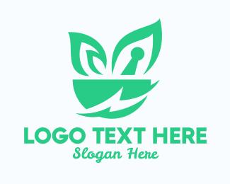 Salad Bowl - Energy Pharmacy Mortar  logo design