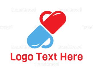 Pharmaceutic - Love Capsule logo design