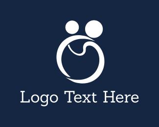 Pediatrician - Mom & Son logo design