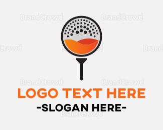 Course - Fresh Golf logo design