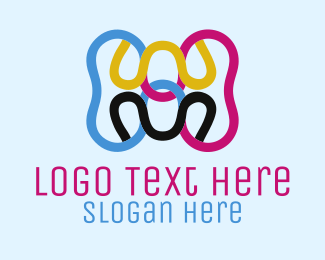 Printing - Printing Colors logo design