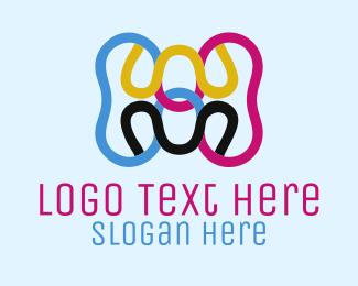 Color - Printing Colors logo design