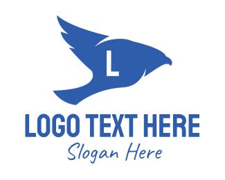 """Blue Bird Lettermark"" by MDS"