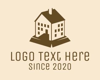 Condominium - Brown Mansion Condominium logo design