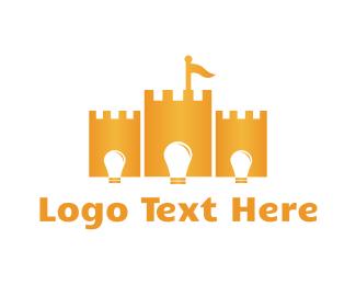 Bright - Bright Castle logo design