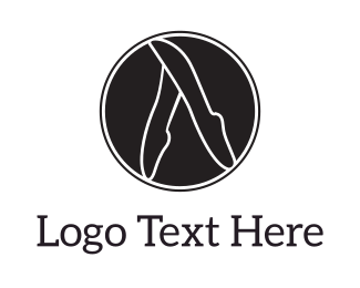 Shoe - Ballet Circle logo design