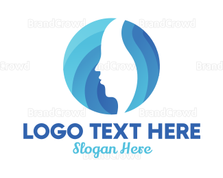 Skin Care - Blue Skin Spa logo design
