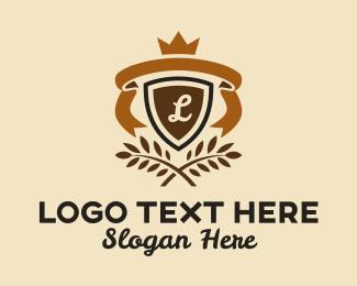 Microbrewery - Organic Emblem Lettermark logo design