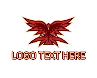 Phoenix - Red Phoenix Gaming logo design