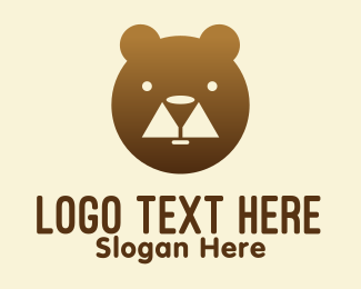 Teddy - Bear Winery logo design