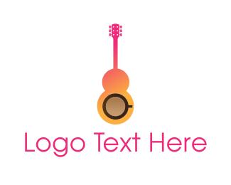 Music - Music Cafe logo design