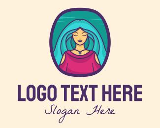 Life - Woman Beauty Salon logo design