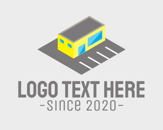 Retail Shop - Convenience Store Car Park logo design
